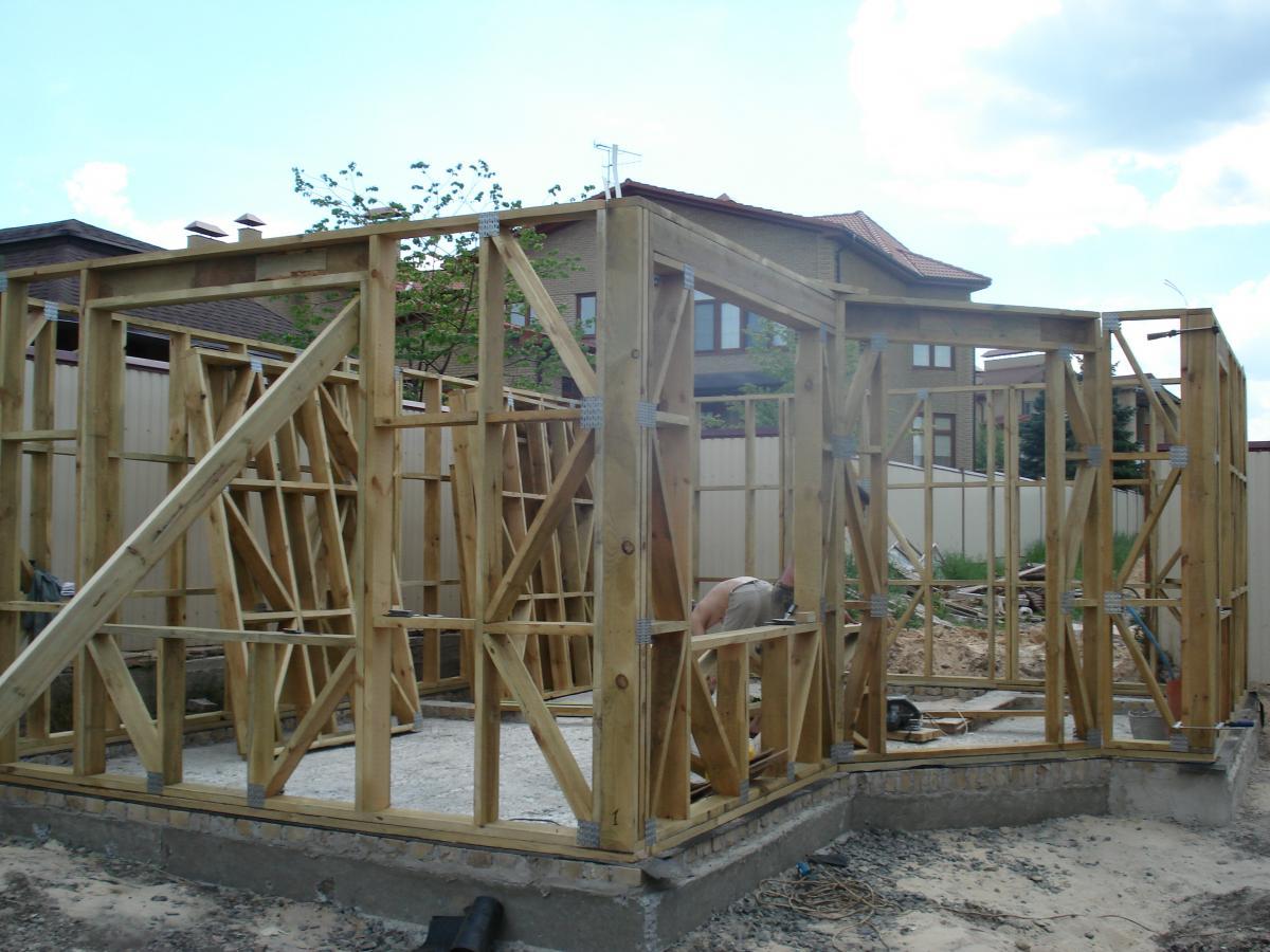 Деревянные конструкции на МЗП заводской сборки, проектирование, доставка, монтаж
