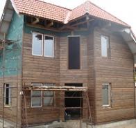 Каркасные дома, деревянные стропильные фермы, строительство жилых домов в Харькове