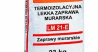 Лёгкий кладочный раствор с керамзитом и минеральными добавками LM 21-E